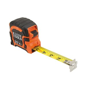 Klein 86225 Tape Measure, Magnetic Dual End-Hook, Double-Sided, 25'