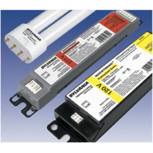 SYLVANIA QTP3X40TT5/120PSN-B Electronic Ballast, Compact Fluorescent, 3-Lamp, 40W, 120V