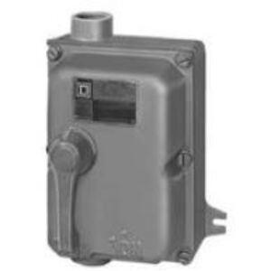 Square D H60XFA Breaker, Molded Case, Enclosed, NEMA 7/9, 60A, 600VAC, 250VDC