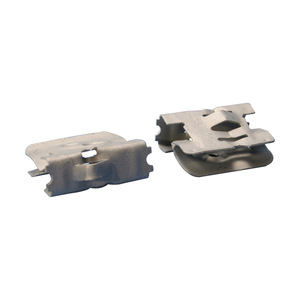 """nVent Caddy 2FMP28 Multi-Purpose Clip,1/8 to 1/2"""" Flange"""