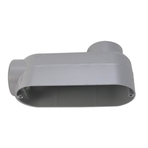 "Hubbell-Killark EALB-8 Conduit Body, Type: LB, ""E"" Series, 3"", Material: Aluminum Alloy"