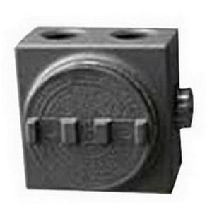 "OZ Gedney GUEB7-75AN4 Outlet Box, GUEB, (7) 3/4"" Hubs, Aluminum"
