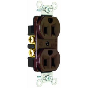 Pass & Seymour CRB5262 P&S CRB5262 15A 125V CONSTRUCT DUPL