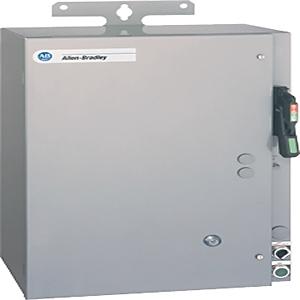 Allen-Bradley 1232X-BNA-A1J-24R Pump Panel, NEMA 1, 27A, 240VAC Coil, Disconnect Switch, NEMA 3R