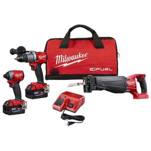 Milwaukee 2997-23 M18 FUEL™ 3 Tool Combo Kit
