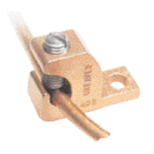 Greaves BTL4-DB Lay-In Lug, Copper, 14 - 4 AWG, # 10 Stud Hole