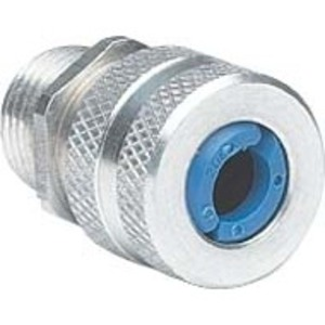 "Hubbell-Killark ZS102 1/2"" Alum Cord Conn Ranges .125-.187, Blue"