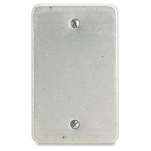 Appleton FSK-1B-A Blank Cover, 1-Gang, Aluminum