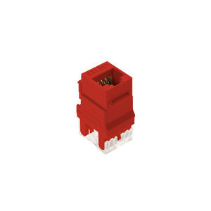 ON-Q WP3450-RE CAT 5E RJ45 T568 A/B CNCTR RED (M20)