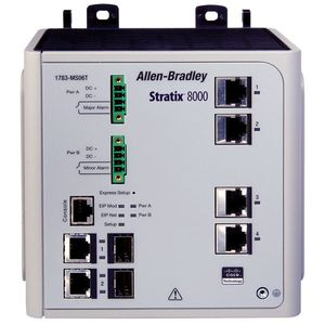Allen-Bradley 1783-MS10T Switch, Ethernet Managed, 10 Port, 1 Fiber SFP Slot, RJ45