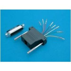 Ortronics 211025DA8MKIT Communications Adapter, DB25/Male to RJ45 8 Position, Keyed