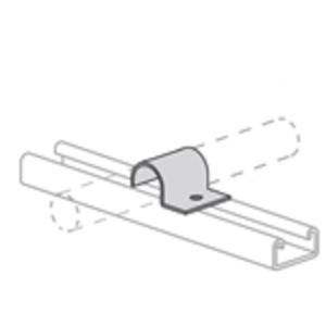 Power-Strut PS2041-3/4-EG Tubing Clamp O.D: 3/4 in