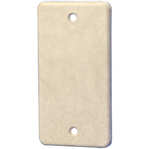 Allied Moulded 9322 HANDY BOX BLANK COVER NON UL