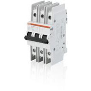 ABB SU203M-K20 Miniature Circuit Breaker, DIN Rail Mount, 3 Pole
