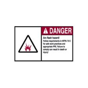 Brady EL-3 Arc Flash Danger