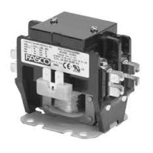 Fasco Motors H230B Contactor, Definite Purpose, 30A, 2P, 120VAC, Coil, 600VAC Rated