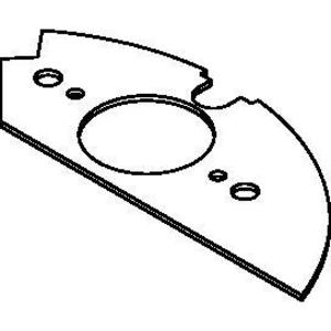 Wiremold CRFB-SR2-2 1.59 IN DEVICE PLATE