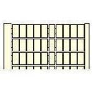 Entrelec 023100427 RC510, Horizontal Marking Cards, Legend: 21-30