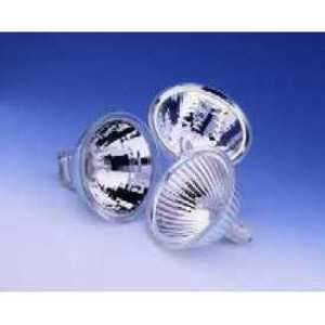 SYLVANIA 20MR16/T/WFL60/C-12V Halogen, 20W, 12V, MR16, 60 Degree Spread, GU5.3 Base