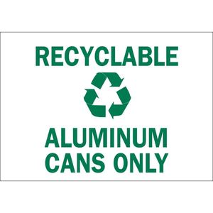 25933 RECYCLE & ENVIRONMENT SIGN