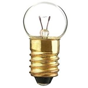 Candela 502-I Miniature Lamp, 5.10 Volt, 0.77 Watt, Miniature Screw Base