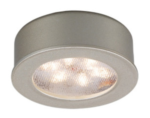WAC Lighting HR-LED87-WT LED Button Light, 5W, 24V, White