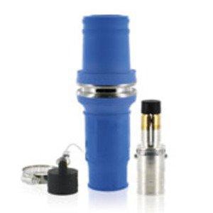 Leviton 49M77-B Single Pole Male Plug, 1135A Max, 777 MCM, Blue