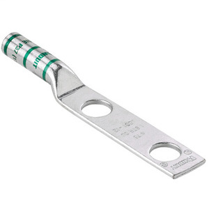 Panduit LCC1000-38D-3 Copper Compression Lug, 2 Hole, 1000 kcm
