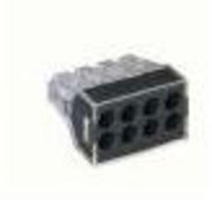 Wago 51013414 Wire Connector, 8-Port, Push-In, 20 - 12 AWG