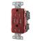 Hubbell-Wiring Kellems USB8300A5R RCPT HG DUP 20A 125V 5A 5V USB PORT A R