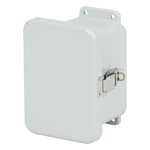 "Stahlin J806HPL Enclosure, Hinged, Padlock Latches, 8"" x 6"" x 4"""