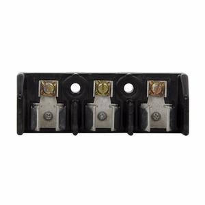 Eaton/Bussmann Series 11239-3PR Class H & J Modular Fuse Block, 3-Pole, 60A, 600V, Pressure Plate