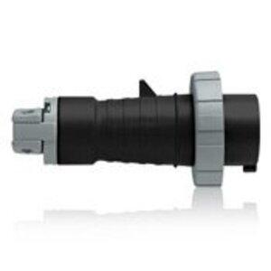 Leviton 430P5W 30A, 600V, Pin & Sleeve Plug - Black