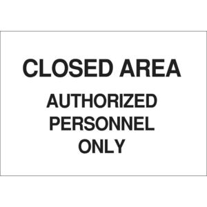 22214 SECURITY SIGN