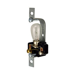 Eaton Wiring Devices 153-BOX LAMPHOLDER RECESSED PILOT LITE W/S-6BULB *** Discontinued ***