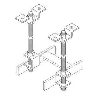 "Chatsworth 11310-003 Threaded Ceiling Kit, 5/8"" Rod"