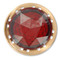 405-R RED P/L JEWEL FOR SNGL RECPT HOLE