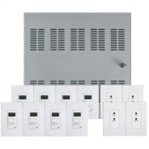 HAI 95A00-1 Hi-Fi 2 8 Zone, 8 Source Distributed Audio System in Enclosure.