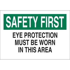 25576 EYE PROTECTION SIGN