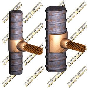 Harger Lightning & Grounding RE7L4/0K HRG RE7L4/0K 4/0 TO 7 & LARGER