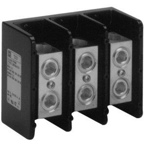 Square D 9080LBA364101 Power Distribution Block, 3P, 420A, 600VAC, 1 Main/1 Branch