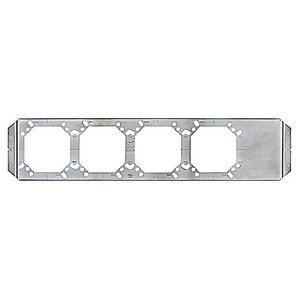 Steel City H24S-82-4 5-SQUARE HORIZONTAL BRACKET 24-IN