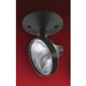 Lightalarms ELF645L9-M6 Emergency Light, Incandescent, Remote, 1-Head, 9W, 6V, White
