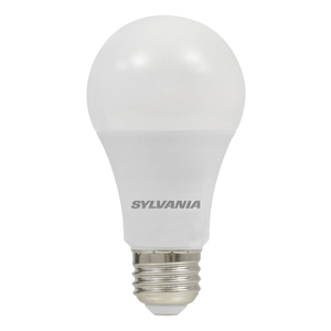 SYLVANIA LED9A19DIMO830URP 9 Watt, LED, A19, Dimmable, 800 Lumen, 3000K, 80CRI, 120V