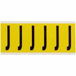 3450-J 34 SERIES NUMBER & LETTER CARD