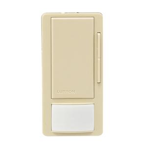 Lutron MS-Z101-LA OCC/VAC Sensor Switch Dimmer, 8A, Maestro, Light Almond