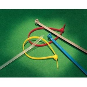 Thomas & Betts TY28M-1 CABLE TIE 50LB 14IN BROWN NYLON