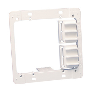 """nVent Caddy MPAL2 Mounting Bracket, 2-Gang, Low Voltage, Depth: 1/4 - 1/1/4"""""""