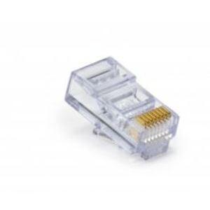 Platinum Tools 100010C Modular Plug, EZ-RJ45 Cat 6, 23AWG