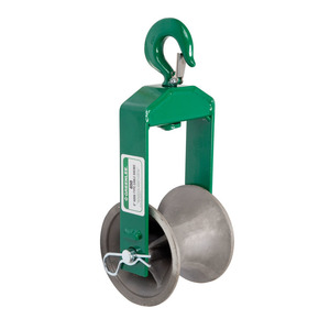 """Greenlee 650 Sheave-cable 6"""" Hook Type (650)"""